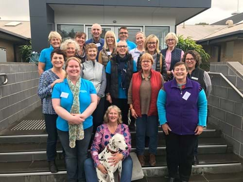 Our 2018 Volunteer Training Day
